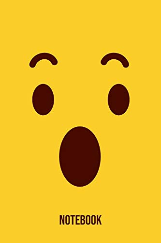 Notebook: Surprise Emoji Emoticons Notebook: Emoticons Notebook For Kids, social media emoticons Journal, Emoticon Face Themed Birthday, Emoji ... Emoji Stuff, 120 Pages, 6x9, Matte Cover.