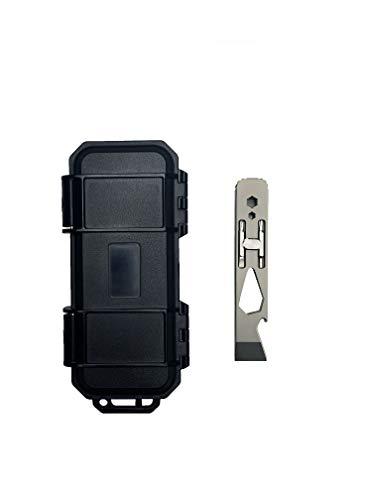 Tacray Titanium Multitool Pry Bar Bottle Opener Screwdriver Wrench EDC Tools