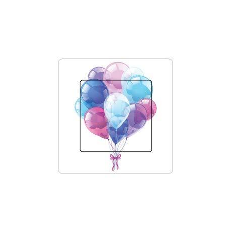 Luftballons selbstklebend Schalter