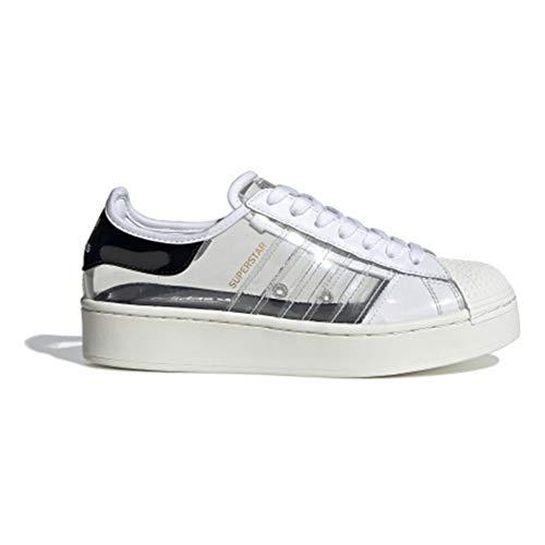 adidas Superstar Bold W - Zapatillas deportivas para mujer, color gris, 37 1/3