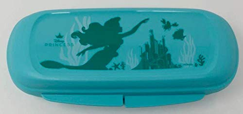 Tupper TUPPERWARE Disney Prinzessin Lunch to Go Twin Mädchen Schule Brotdose Box Behälter Kindi Twin Kind Kindergarten Schule A126 Sandwichbox türkis Arielle