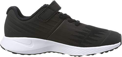 Nike Jungen Star Runner (PSV) Laufschuhe, Schwarz (Black/White/Volt 001), 28.5 EU