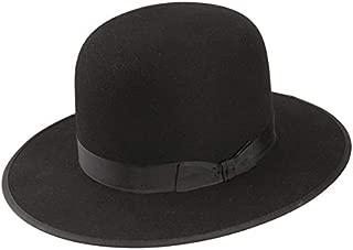 amish black felt hat