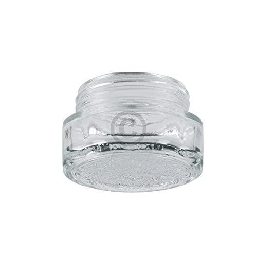 DL-pro Cristal de lámpara de 40 mm de diámetro para Whirlpool Bauknecht Ignis Ikea 481010646361 cubierta de lámpara cubierta de cristal para lámpara de horno lámpara bombilla horno horno horno cocina