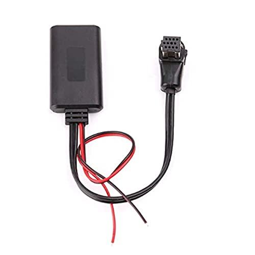 LIULIANG MeiKeL Coche Bluetooth 5.0 Receptor de Audio Ajuste para Pioneer IP-Bus 11pin Bluetooth AUX Receptor Adapter