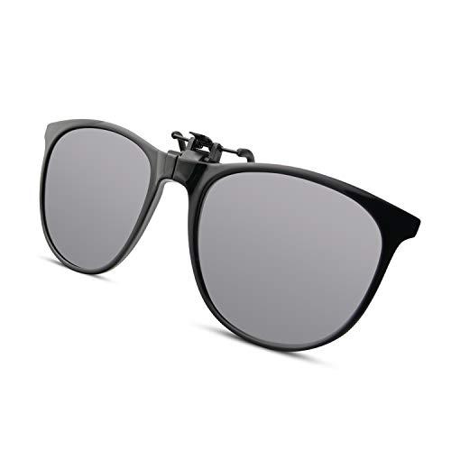 BAUHAUS Polarized Clip-on Sunglasses