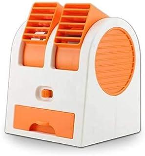 DABUTY ONLINE, S.L. Climatizador Portátil, Mini Ventilador Enfriador, 3 en 1 Espacio Personal Enfriador de Aire Humidificador y Purificador, para Hogar/Oficina/Sala/Viaje (Naranja)