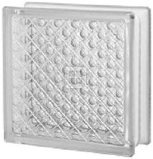 8x8x3 Diamond Glass Block
