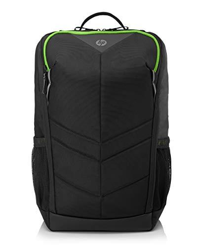 """HP Pavilion Gaming 400 Zaino per Notebook fino a 15,6"""", impermeabile, pannello posteriore imbottito, spallacci ergonomici, nero"""