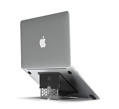 Bosvision MacBook Stand/Laptop Computer Stand, Thinnest Adjustable Foldable Ergonomic Stand for 11'-18' MacBook and Laptop Computer