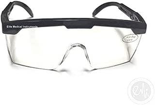 EMI # 411 BLACK Full Frame Adjustable Eyewear Safety Glasses