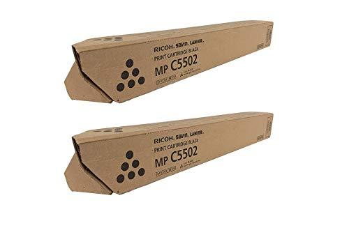 Price comparison product image 841751 Genuine Ricoh Toner Cartridge 2 Pack,  841679,  31000 Page-Yield Per Ctg,  Black