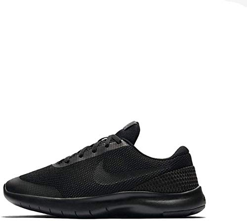 Nike Boy's Flex Experience RN 7 Running Shoes (6 M US Big Kid, Black/Black/Anthracite)