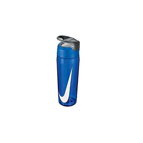 Nike Unisex's Hypercharge strowaterfles drank, blauw/wit, 32 oz