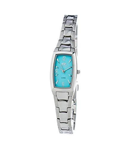 TIME FORCE TF2566L-04M - Reloj para Mujer Movimiento Cuarzo con Correa DE Acero TAMAÑO 18MM