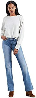 Calça Jeans Levis Feminina 315 Shaping Bootcut 4 Way Stretch Azul Médio
