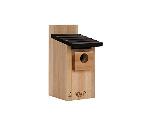 Nature's Way Bird Products CWH3 Cedar Bluebird Box House