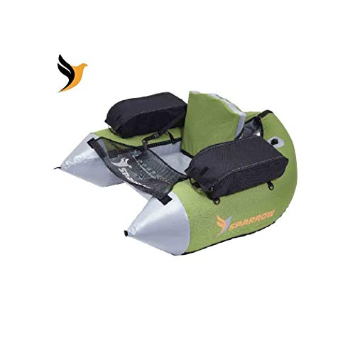 Sparrow Float Tube Adulte Unisexe, Sage/Gris, Unique