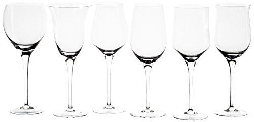 Cristal de Sèvres Dégustation Coffret de 6 Verres à vin