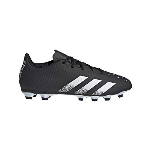 adidas Predator Freak .4 FxG, Zapatillas de fútbol, NEGBÁS/FTWBLA/NEGBÁS, 38 2/3 EU