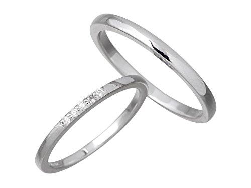 LOVERS SCENE ラバーズシーン シルバー ペア リング 指輪 ダイヤモンド 7〜15号 11〜21号 LSR-0124-P