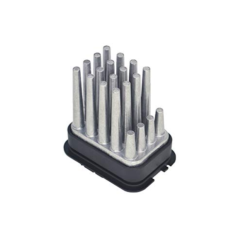 ZEALfix Resistencia del motor del soplador del calentador 90512510 para Astra Corsa Meriva Omega Zafira