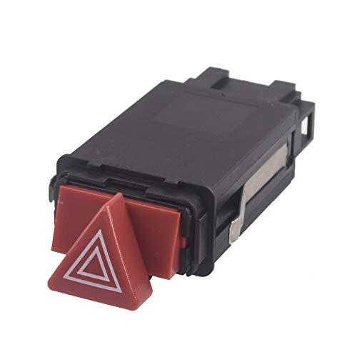 RJJX For Audi A6 C5 RS6 S6 Allroad Quattro Peligro de Emergencia Advertencia Flasher Interruptor Ligero 4B0941509D 10 Pines
