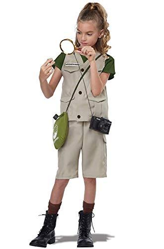 California Costumes Wild Life Expert/Archaeologist Child Costume, Tan, Large