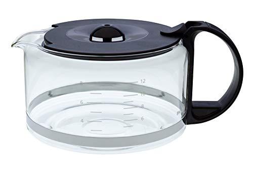 Glaskanne CRP722,422225953011 kompatibel mit / Ersatzteil für Philips HD5400, HD5405 Gourmet Kaffeemaschine
