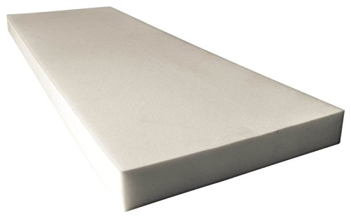 """AK TRADING Upholstery High Density Cushion, Seat Replacement Foam Sheet/Padding 0.5"""" x 24"""" x 72"""" inches."""