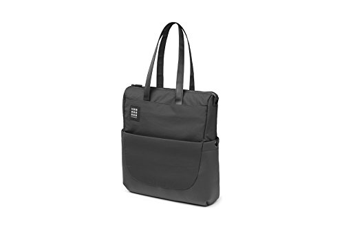 Moleskine ID Collection Borsa a Tracolla Verticale Device Bag per Pc, Tablet, Notebook, Laptop e iPad fino a 15'', Dimensioni 24 x 10 x 38 cm, Colore Nero