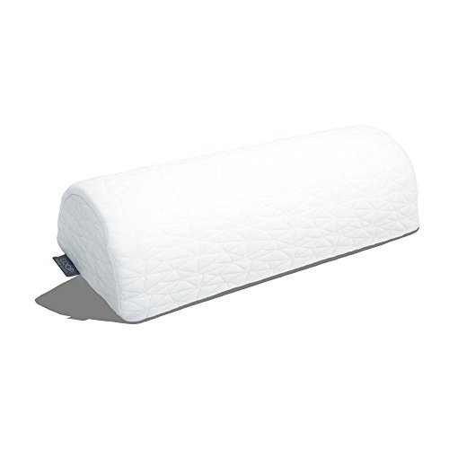 Coop Home Goods - 4 Position Half-Moon Bolster/Wedge Pillow with Adjustable Inserts - Memory Foam Support - Removable Lulltra Cover Bamboo Derived Rayon - Helps Relieve Back, Neck, Knee & Ankle Pain