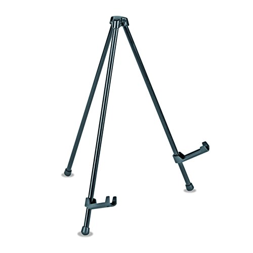 "Universal 43028 Portable Tabletop Easel, 14"" High, Steel, Black"