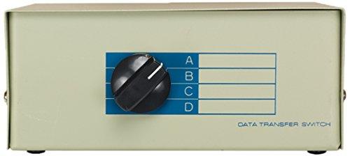 Cablelera - Interruptor manual DB25 hembra ABCD de 4 vías (ZDMN88A6-4)