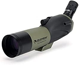 Celestron – Ultima 65 Angled Spotting Scope with Smartphone Adapter – 18 to 55x65mm Zoom Eyepiece – Multi-Coated Optics fo...