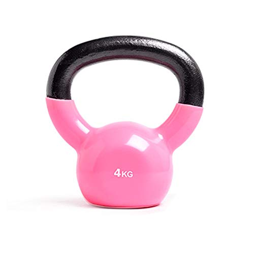 Kettle Bells, Home Fitness Exercise and Fitness Use, Body Muscle Training, Weight Loss Shaping Fitness Equipment, Non-slip Handle, Pure Iron Inner Core,4kg