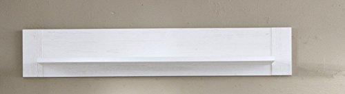 trendteam smart living  Wandboard, Holzdekor, Weiss, 20 x 135 x 24 cm