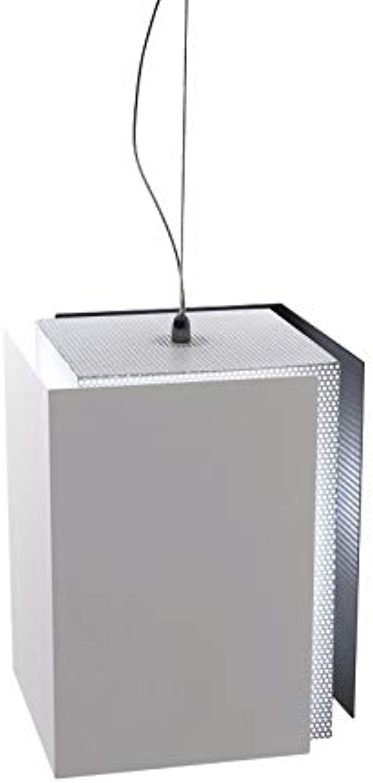 Luminaire suspendu décor à la maison de fer lustre pour chambre à coucher pour salon pour restaurant pour lampes décoratives de bar, blanc
