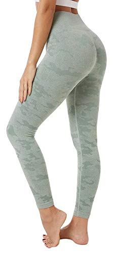 MILASIA Vrouwen Yoga Leggings Naadloze Hoge taille Tummy Controle Yoga Broek voor Gym Running Workout