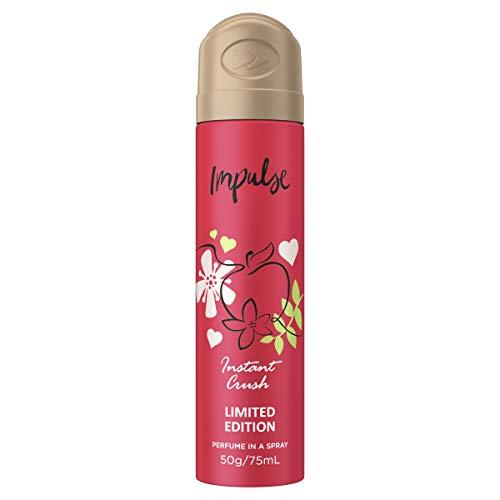 Impulse Instant Crush Deodoran tBody Spray, 75 ml