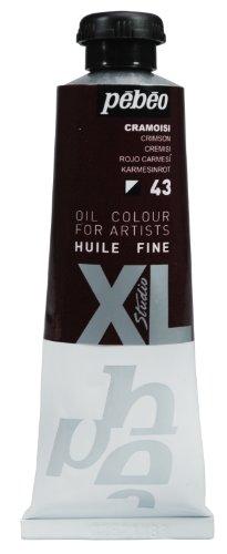 Pebeo XL Studio Feine Ölfarbe, 37 ml, Karminrot