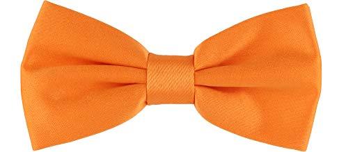 Ladeheid Kinder Jungen Fliege MJ (10cm x 5cm, Orange)