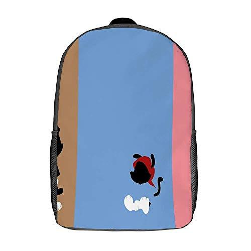 QUEMIN Animaniacs Bolsos de hombro Mochila escolar ligera Mochila de viaje Apta para computadora portátil de 15 pulgadas Dzc Bolsa de 17 pulgadas