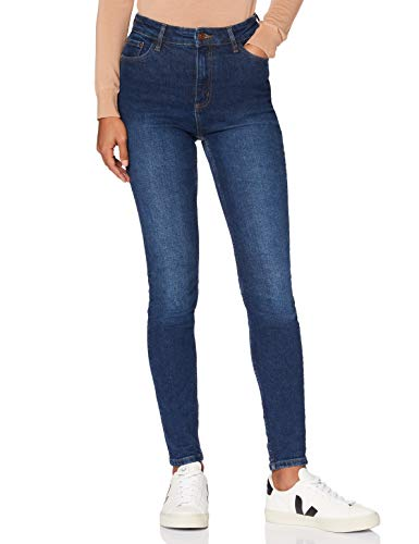 MERAKI USAPP4 Jeans Ajustados, Añil, 28W / 32L