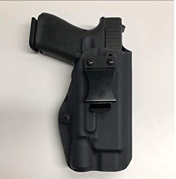 Black Kydex IWB Holster Compatible with Glock 19 23 32 Surefire X300 Ultra B Model