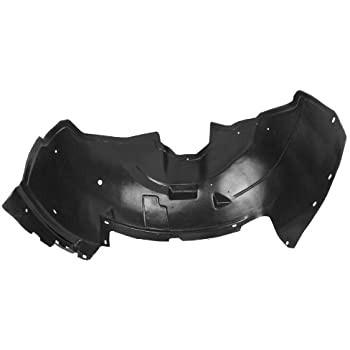 Partslink Number GM1249188 Sherman Replacement Part Compatible with Chevrolet Silverado Front Passenger Side Fender Inner Panel