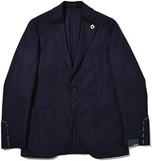 LARDINI【ラルディーニ】[春夏] ホップサックジャケット 3ボタン ウール ネイビー