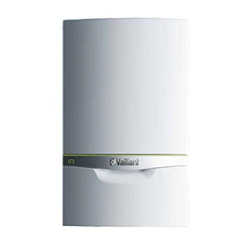 Vaillant Caldera de gas de condensación mixta, de la gama Ecotec Exclusive, 24,6kW, modelo VMW 436/5-7 de gas natural, 47,4 x 44 x 72 centímetros (referencia: 0010017098), Blanco, Estándar