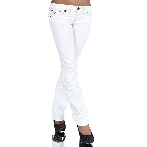 Jeans Jeans Boot Cut Diva-Jeans Basic Donna