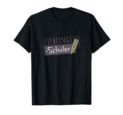 Lieblingsschüler Bester Schüler Schülerin T-Shirt Geschenk